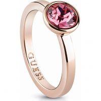Damen Guess Rose vergoldet Miami Ring
