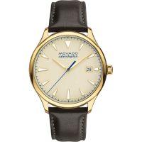 Herren Movado Heritage Series Calendoplan Watch 3650003