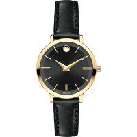 Damen Movado Ultra Slim Watch 0607095