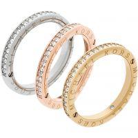 Damen Michael Kors Multi colour gold Größe P charakteristisch Ring