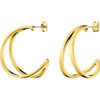 femme Calvin Klein Jewellery Outline Earrings Watch KJ6VJE100200