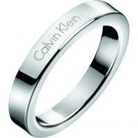 Damen Calvin Klein Edelstahl Hook Ring Größe L.5