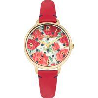 Damen Cath Kidston Peony Spot Uhren