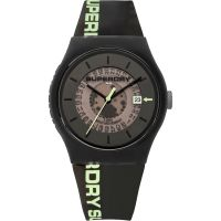 Herren Superdry Urban Semi Opaque Watch SYG168B