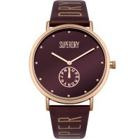 Ladies Superdry Oxford Crystal Watch