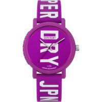 femme Superdry Campus Fluro Block Watch SYL196VW
