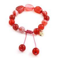 femme Lola Rose Jewellery Jenny Scarlet Agate Bracelet Watch 627689