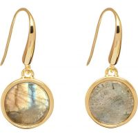Ladies Lola Rose Gold Plated Garbo Labradorite Earrings 612197