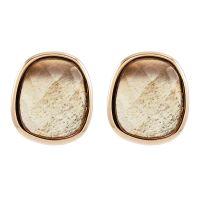 Ladies Lola Rose Bassa Grey Moonstone Mini Facet Earrings