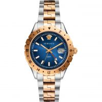 unisexe Versace Hellenyium GMT Watch V11060017