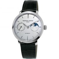 homme Frederique Constant Slimline Moonphase Manufacture Watch FC-702S3S6