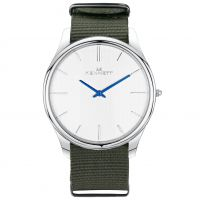 Herren Kennett Kensington Watch KSILWHKHGRNNATO