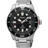 Mens Seiko Prospex Divers Solar Powered Watch