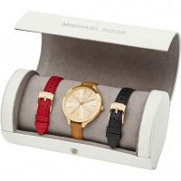 Femmes Michael Kors Slim Runway Travel Roll Ensemble Montre