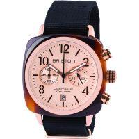 Unisex Briston Clubmaster Classic Acetate Chronograph Watch 14140.PRA.T.6.NB