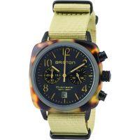 unisexe Briston Clubmaster Classic Acetate Chronograph Watch 14140.PBAM.TS.5.NK