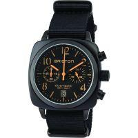 Unisex Briston Clubmaster Classic Acetate Chronograph Watch 13140.PBAM.B.4.NB