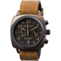 unisexe Briston Clubmaster Classic Steel Chronograph Watch 15140.SPK.C.5.LVBR