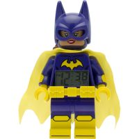 Childrens LEGO Batman Movie Batgirl minifigure clock Alarm