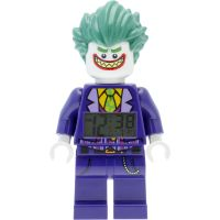 Zegarek dziecięcy LEGO Batman Movie The Joker minifigure clock 9009341