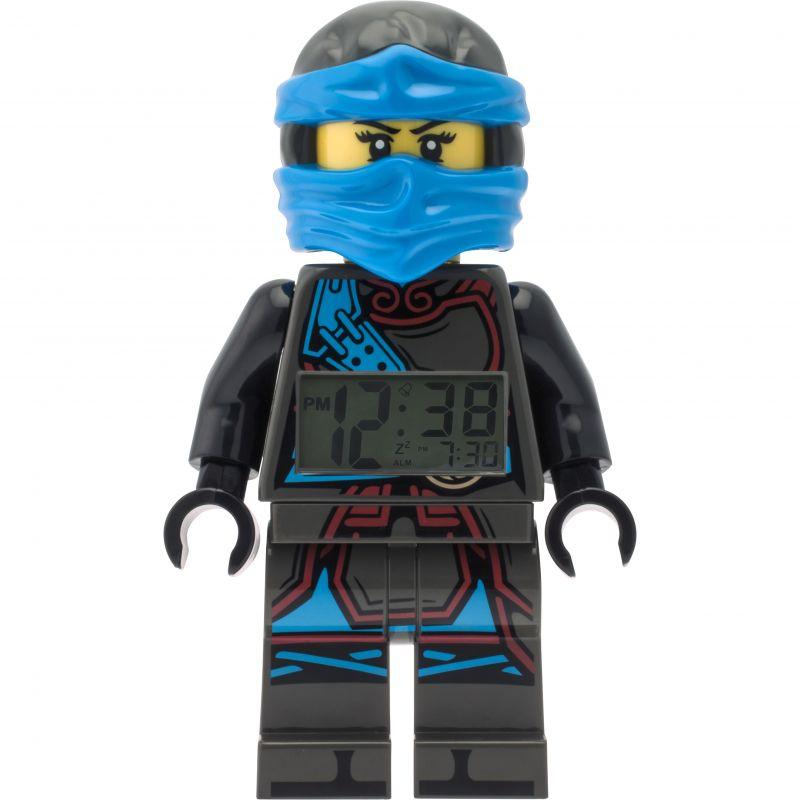 Kinder LEGO Ninjago Time Twins Nya Minifigure Alarm Clock 9009303
