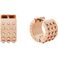 Damen Michael Kors vergoldet mini Muse Huggie Ohrringe