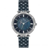 Ladies Accurist London Ceramic Watch
