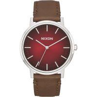 Herren Nixon The Porter Leder Uhr