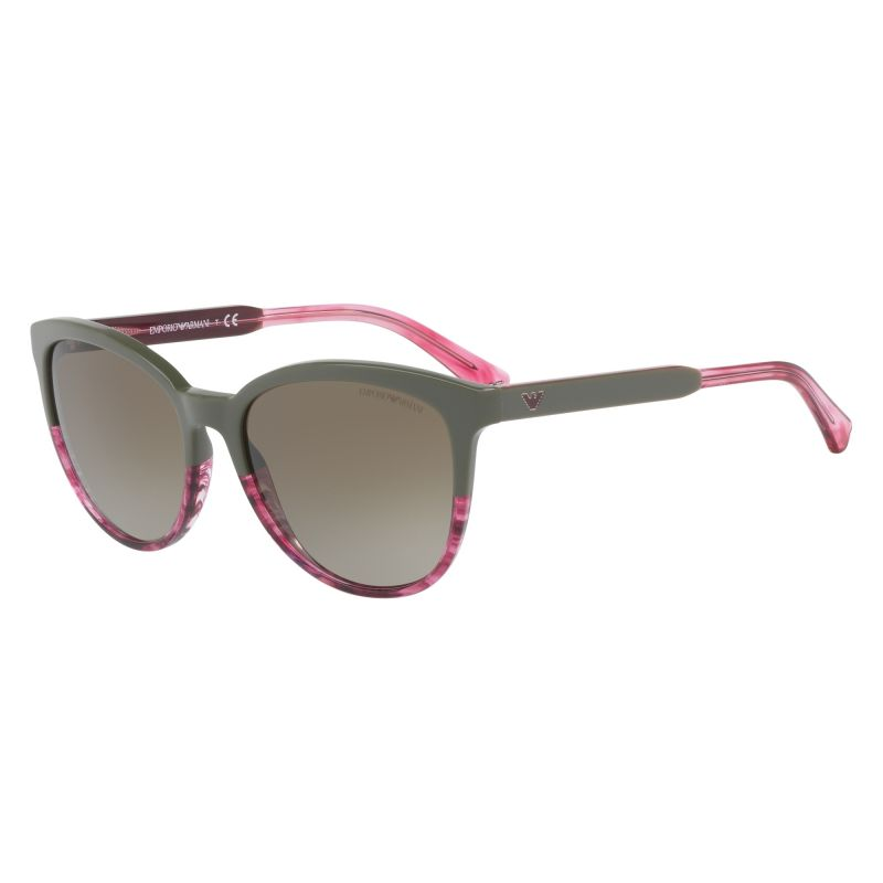 Ladies Emporio Armani EA4101 Sunglasses EA4101-556913-56