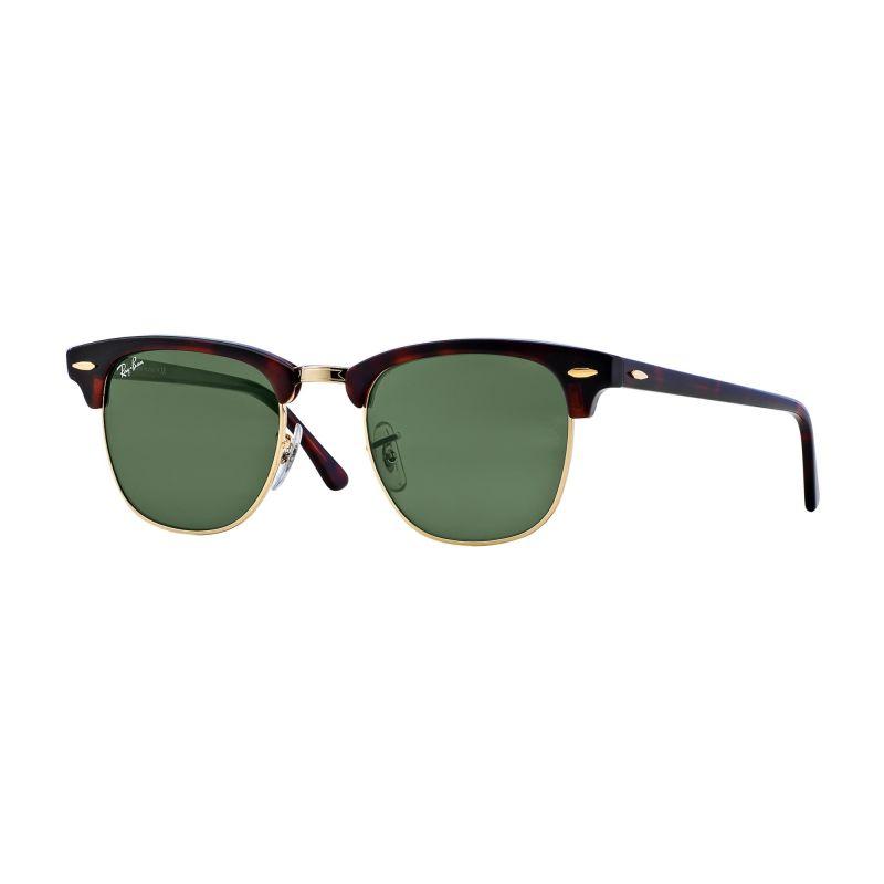 Mens Ray-Ban Clubmaster Fleck Sunglasses RB3016-W0366-49