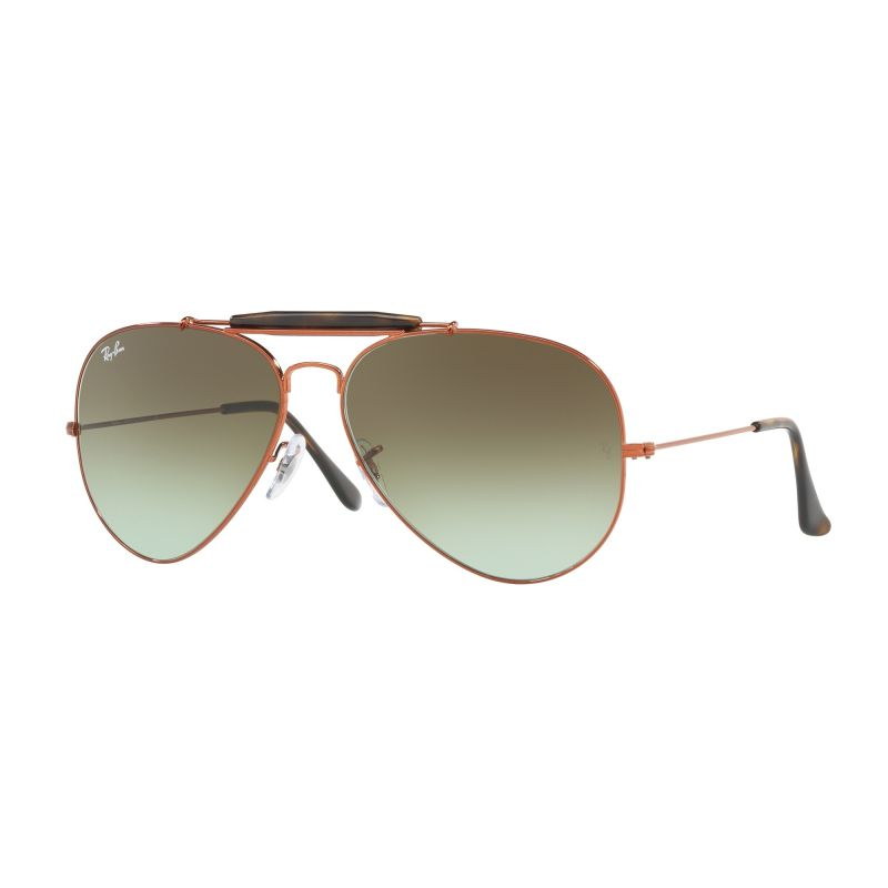 Mens Ray-Ban Outdoorsman II Sunglasses RB3029-9002A6-62