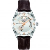 Mens Hamilton Jazzmaster Open Heart Automatic Watch
