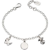 enfant D For Diamond Charm Bracelet Watch B4889