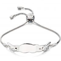 D For Diamond ID Bracelet JEWEL