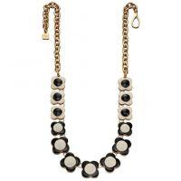 Damen Orla Kiely vergoldet Halskette