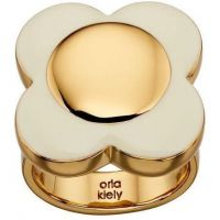 Ladies Orla Kiely Gold Plated Ring