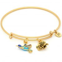 Chrysalis NATURE HUMMINGBIRD EXPANDABLE BANGLE JEWEL