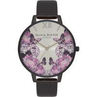 Ladies Olivia Burton After Dark Floral Butterfly Print Watch