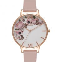 Femmes Olivia Burton Vegan Friendly Floral Print Montre