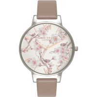 Ladies Olivia Burton Parlour Floral Print Watch