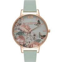 Ladies Olivia Burton Enchanted Garden Floral Butterfly Watch