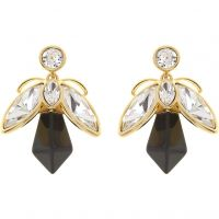 Ladies Ted Baker Gold Plated Geenn Geometric Bee Earring
