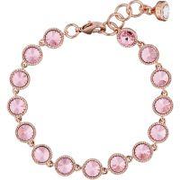Ladies Ted Baker Rose Gold Plated Raalyn Rivoli Crystal Single Strand Bracelet TBJ1292-24-70