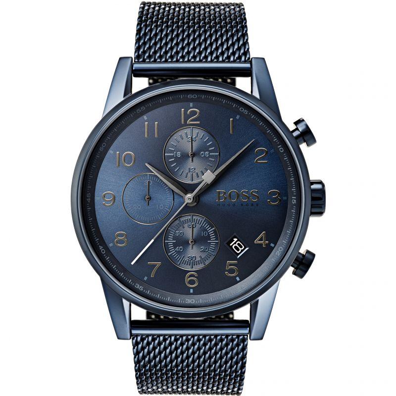 Herren Hugo Boss Navigator GQ Edition Chronograph Watch 1513538