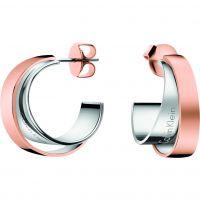 femme Calvin Klein Jewellery Unite Earrings Watch KJ5ZPE200100