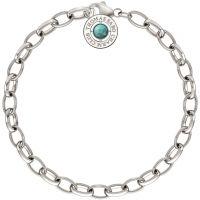 Ladies Thomas Sabo Sterling Silver Summer Charm Bracelet 14.5cm X0229-404-17-L14.5
