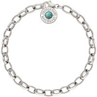 Ladies Thomas Sabo Sterling Silver Summer Charm Bracelet 17cm