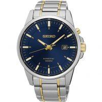 Mens Seiko Kinetic Watch