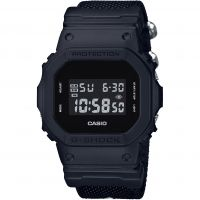 Casio G-Shock Blackout Cloth Series Herenchronograaf Zwart DW-5600BBN-1ER