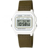 unisexe Casio Classic Collection Cloth Alarm Chronograph Watch W-59B-3AVEF